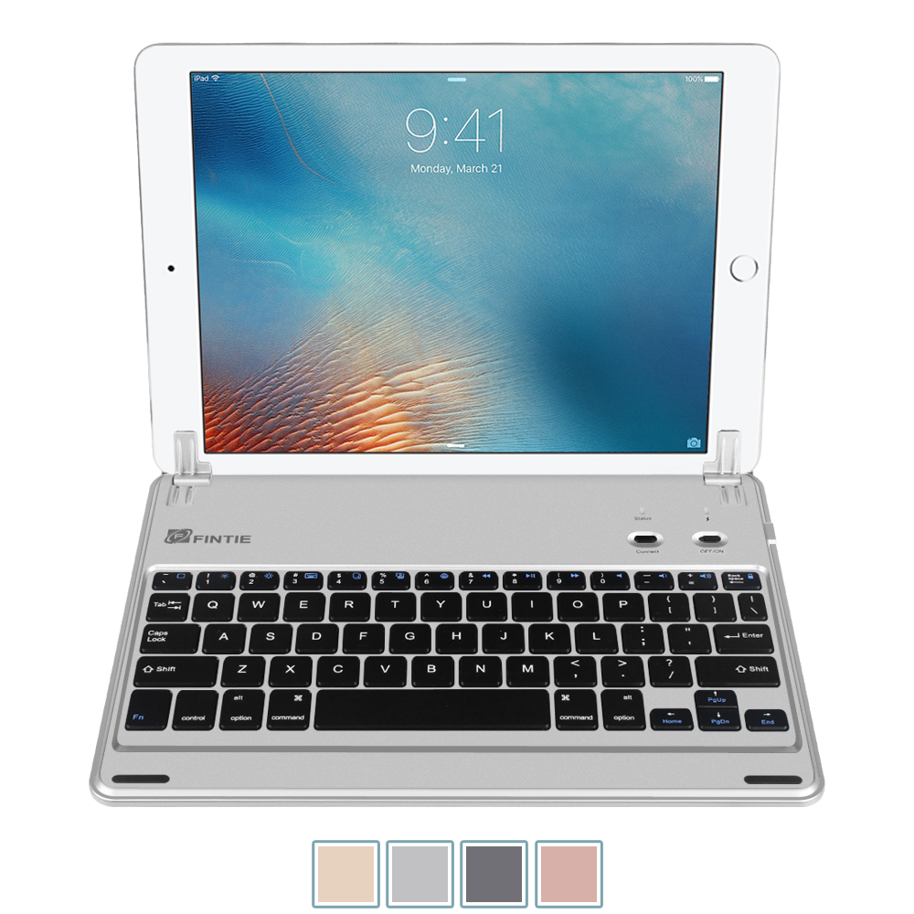 bluetooth keyboard for apple ipad 9 7 quot  2018 2017   air  ellipsis 7 tablet cover