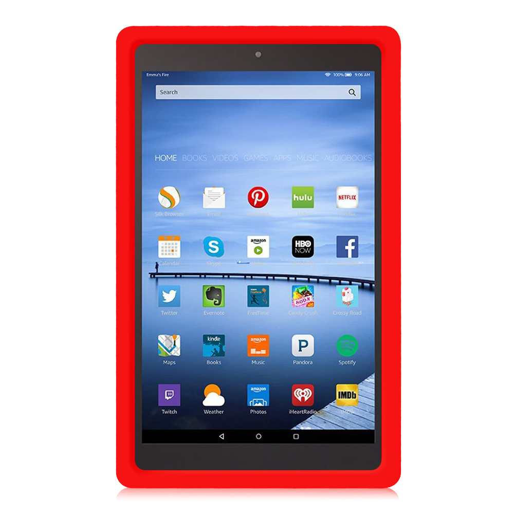 Shock Proof Silicone Case Kids Cover For Amazon Fire Hd 10
