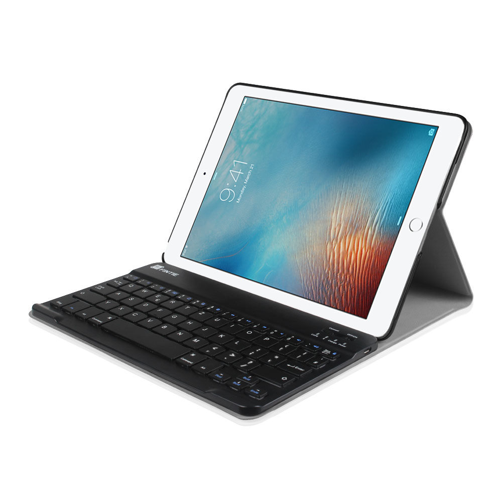 detachable bluetooth keyboard leather case cover for apple ipad pro 9 7 inch ebay. Black Bedroom Furniture Sets. Home Design Ideas