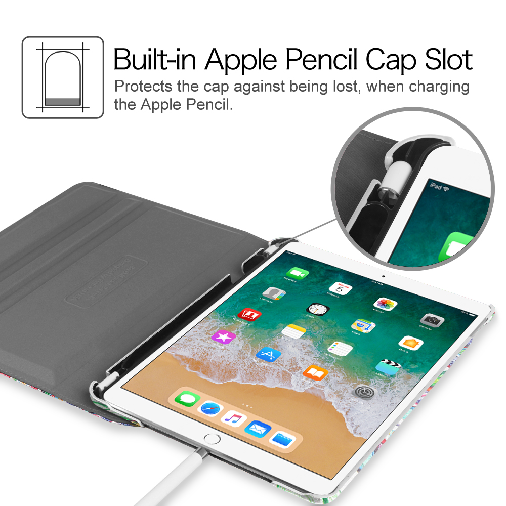 iPad Pro 10.5 Case 360 Degree Rotating Stand Cover With ...