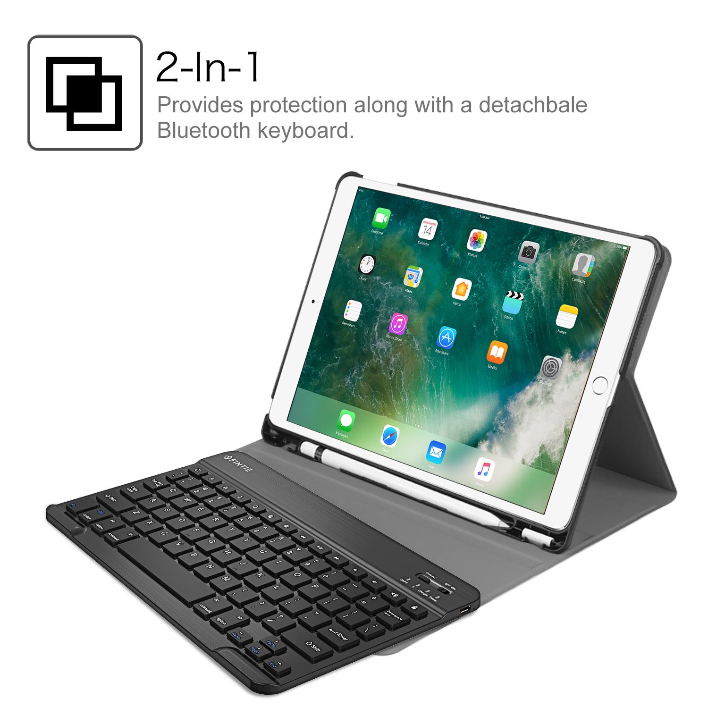 f r ipad pro 10 5 zoll bluetooth tastatur h lle keybord. Black Bedroom Furniture Sets. Home Design Ideas