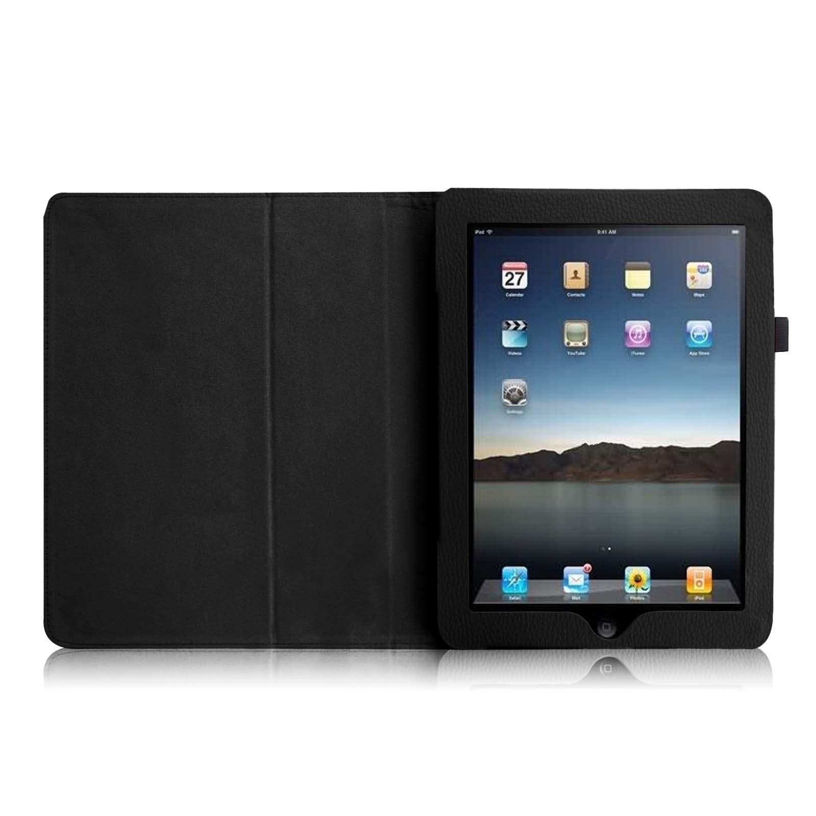 apple ipad 1 1st gen original generation folio case stand. Black Bedroom Furniture Sets. Home Design Ideas