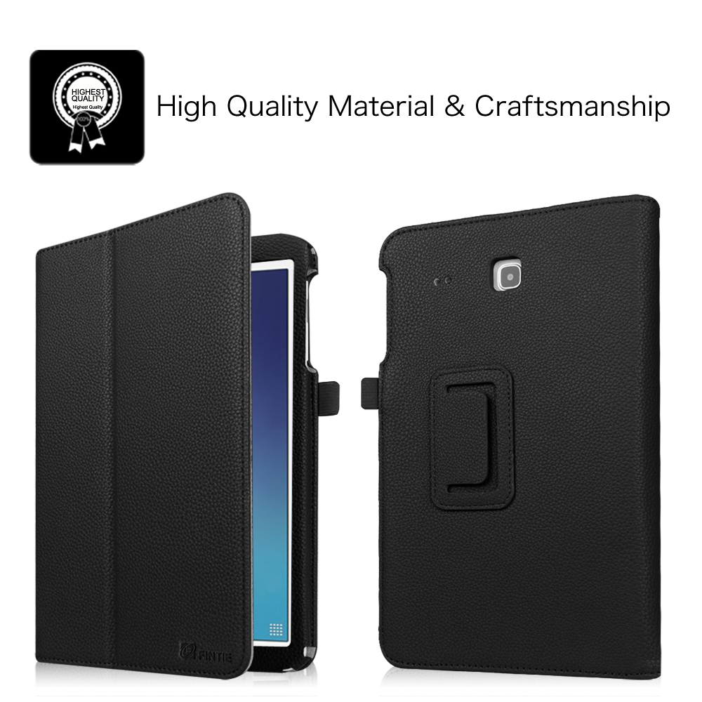 Leather Case Cover For Samsung Tab E Tab E Nook 9 6 Inch