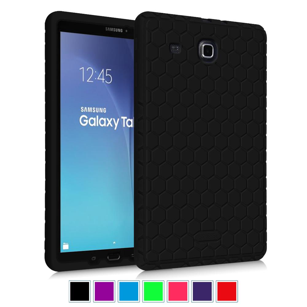 new style bdab8 e59c9 Details about For Samsung Galaxy Tab E 9.6 T560 Silicone Case Shock Proof  Cover Kids Friendly