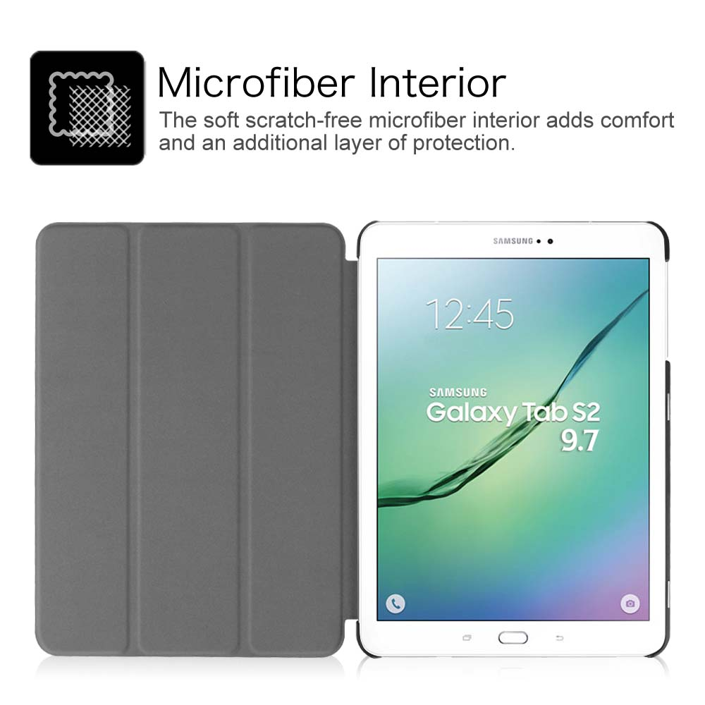 For Samsung Galaxy Tab S2 9 7 Sm T810 Sm T815 Case Cover Stand Auto Sleep Wake Ebay