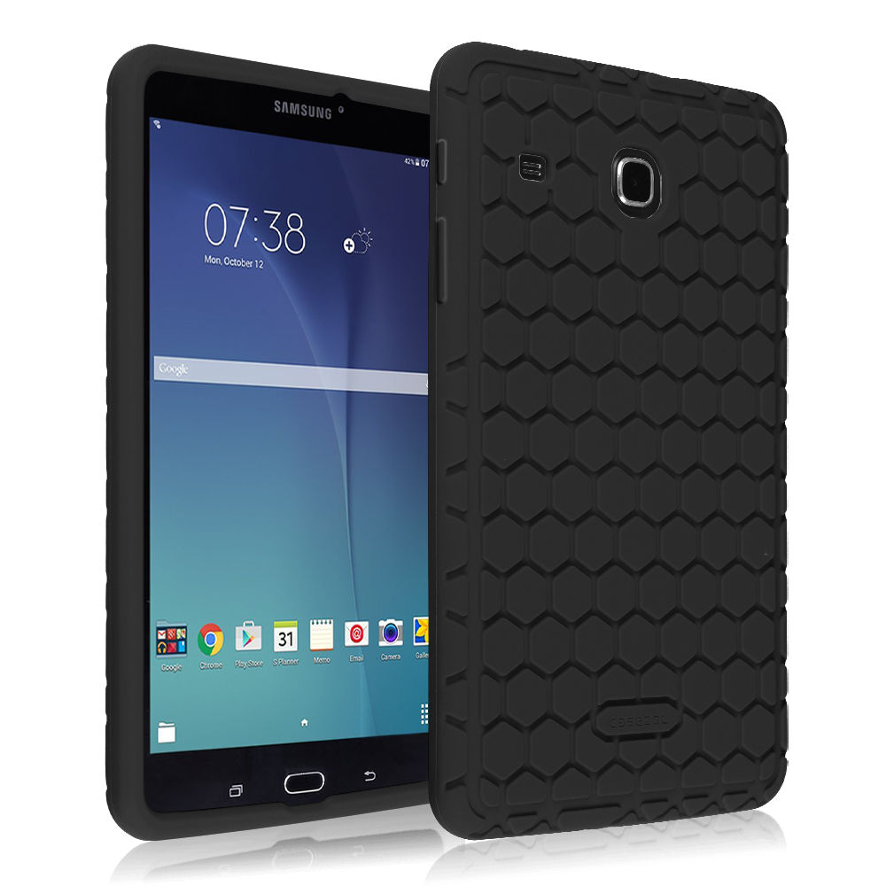 quality design f8b72 a3af3 Details about For Samsung Galaxy Tab E 8.0 SM-T377 8-inch Shock Proof  Silicone Back Cover Case