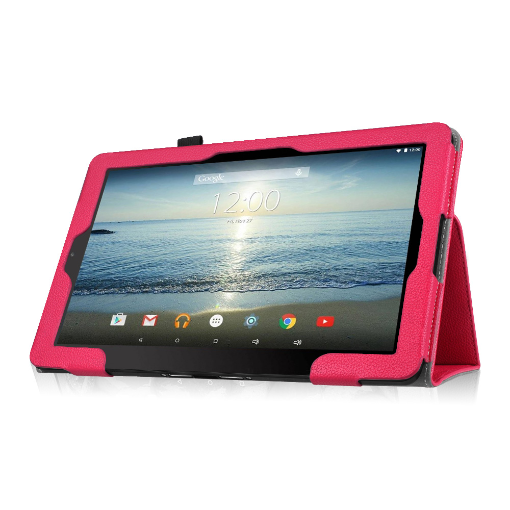 Folio Case Pu Leather Stand Cover For Rca 10 Viking Ii